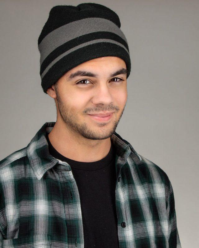 Actor Headshot for Slate Shot